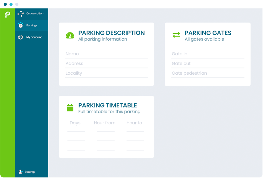 parking management software