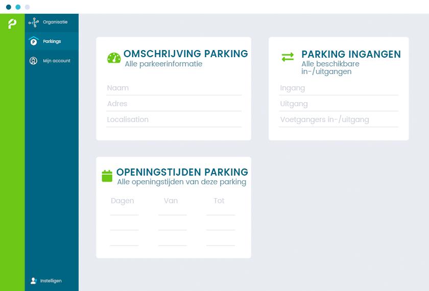 Omschrijving Parking