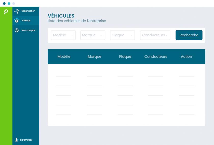 Informations centralisées sur vos véhicules